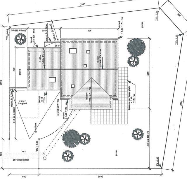 attractive plan de masse cote dans les 3 dimensions #10: pièce n